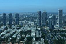 מבט אווירי על תל אביב (צילום: קובי גדעון / פלאש90)