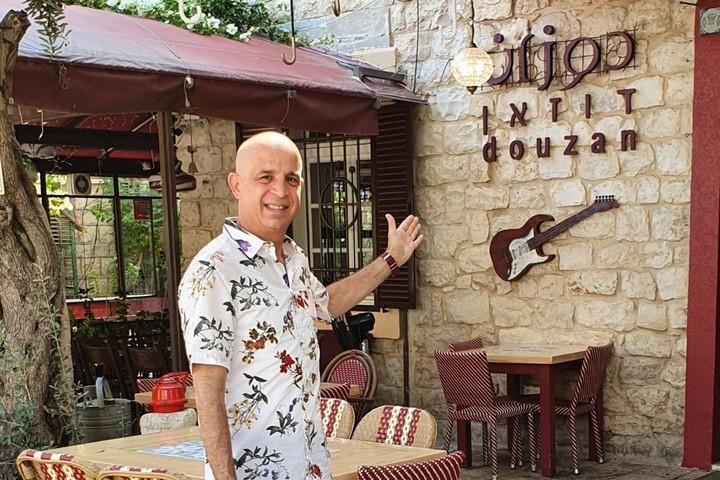 פאדי נג'אר בעל מסעדת דוזאן בחיפה (צילום: באדיבות המצולם)