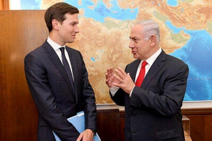 ראש הממשלה, בנימין נתניהו, וג'ראד קושנר (צילום: מתי סטרן, השגרירות האמריקאית בישראל)
