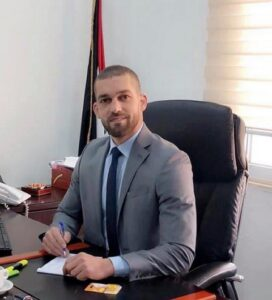 דובר משרד האוצר הפלסטיני, עבד אלרחמן אלביאתנה (צילום: באדיבות המצולם)
