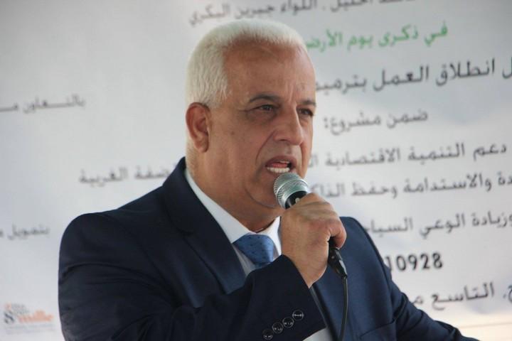 מושל חברון, ג'ברין אלבכרי (צילום: באדיבות משרד המחוז)