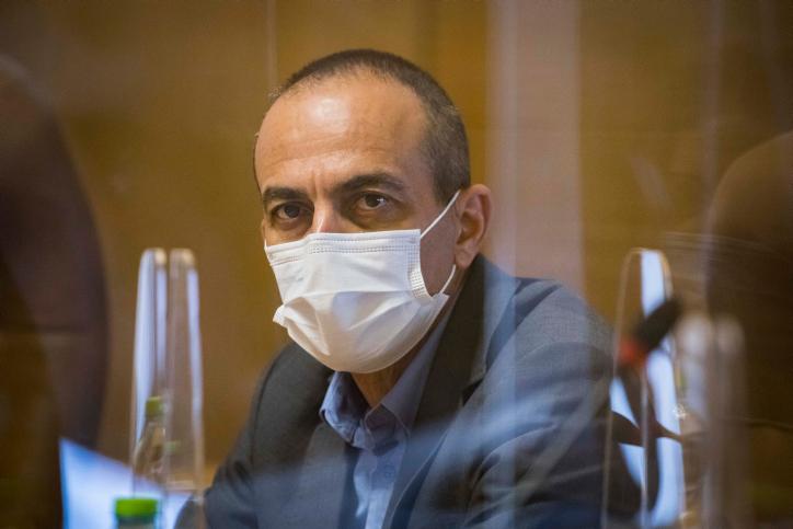 """ההתבטאות שלו על """"]פיגוע"""" בחברה הערבית לא עזרה. פרויקטור הקורונה פרופ' רוני גמזו (צילום: אוליביה פיטוסי / פלאש 90)"""