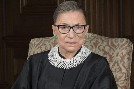 """רות ביידר גינסבורג (צילום: בית המשפט העליון של ארה""""ב)"""