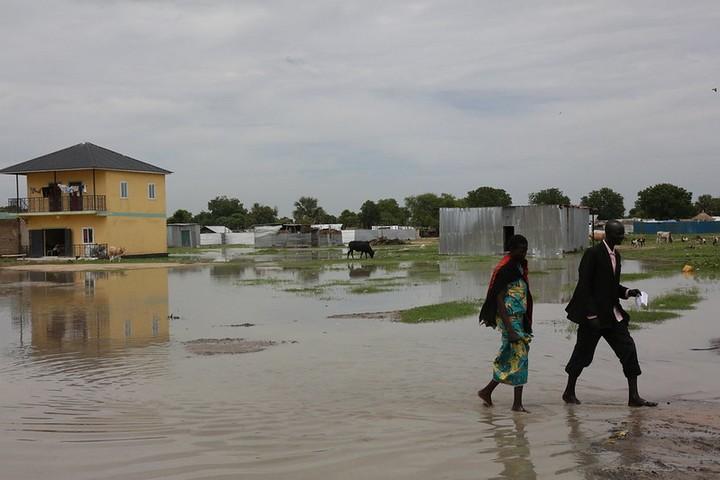 הצפות בסודאן ב-2018 (צילום: UNMISS, CC BY-NC-ND 2.0)