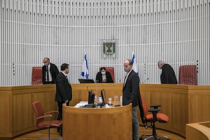 בית המשפט העליון בירושלים, ב-14 בספטמבר 2020 (צילום: אוליבייה פיטוסי / פלאש90)