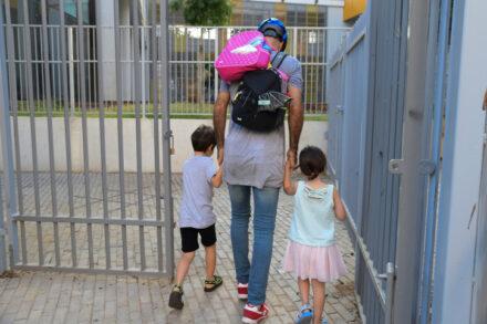כל ילד בגן ילדים מקבל 34 שניות יעוץ בשבוע בממוצע. ילדים בדרך לגן (צילום: אבשלום ששוני / פלאש 90)