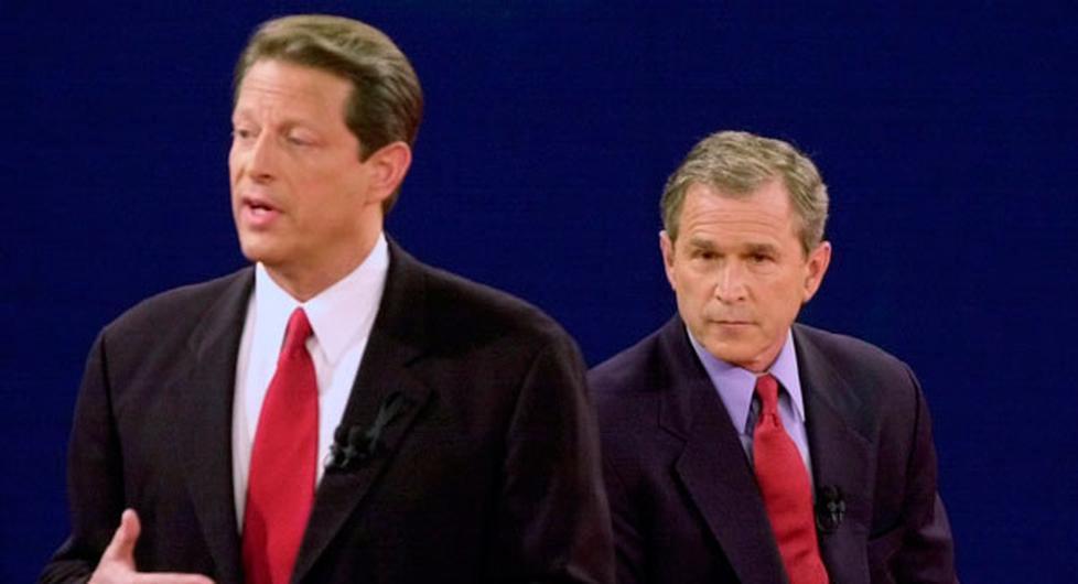 לא נראה שהדמוקרטים יוותרו הפעם, כפי שגור החליט לוותר ב-2000 ולאפשר את מינויו של בוש (צילום מסך)