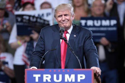 """נשיא ארה""""ב, דונלד טראמפ (צילום: Gage Skidmore, CC BY-SA 2.0)"""