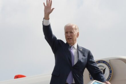 """לא צפוי לסלול את הדרך לחירות הפלסטינים. ג'ו ביידן (צילום: שגרירות ארה""""ב בישראל)"""