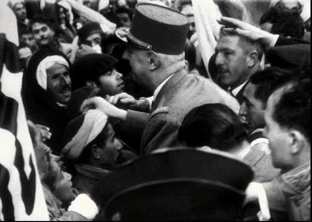 שכללו את השיטה. שרל דה גול באלג'יר, 1958