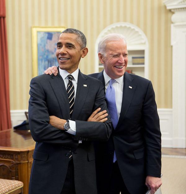 מינויים מעוררי דאגה. ביידן ואובמה (מתוך האתר הרשמי של ג'ו ביידן)