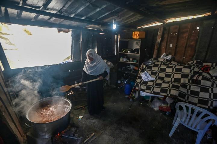 סמירה אבו עמרה (צילום: מוחמד זאנון / אקטיבסטילס)
