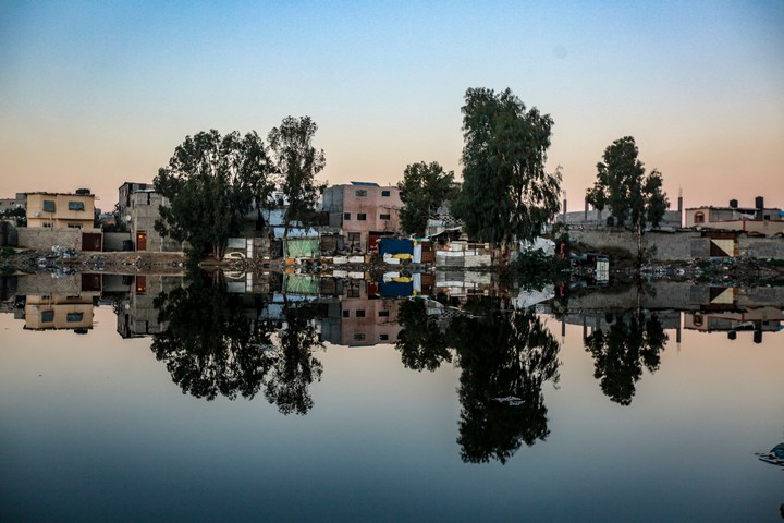 שכונת זייתון בעזה (צילום: מוחמד זאנון / אקטיבסטילס)