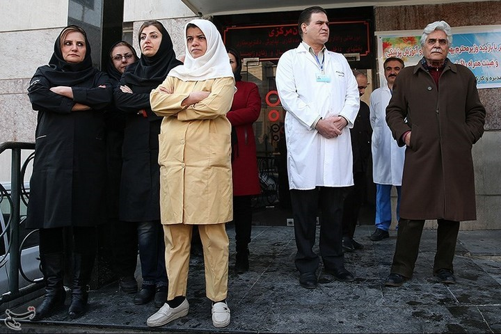 ביקור שר הבריאות האיראני בבית החולים ספיר, ב-6 בפברואר 2014 (צילום: סוכנות הידיעות האיראנית tasnimnews)