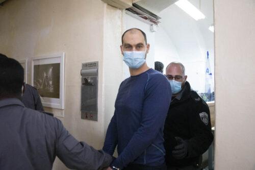 """יונתן פולק סירב לשתף פעולה עם ביה""""מ והורשע על חלקו בהפגנה"""