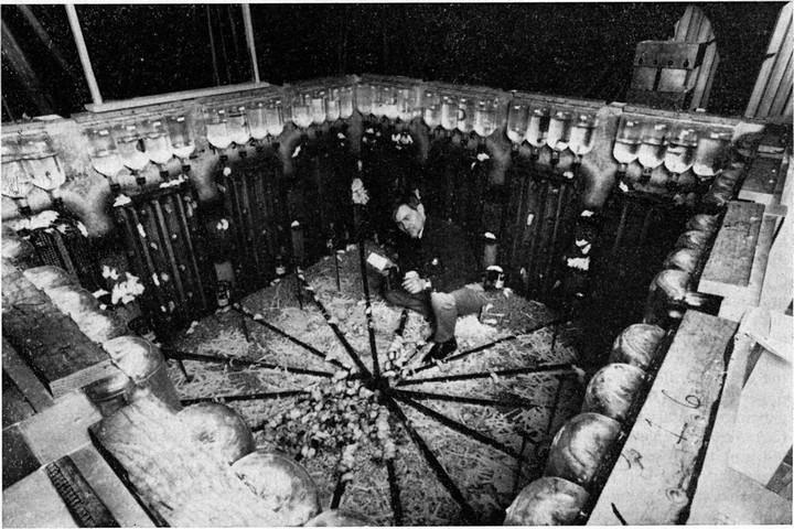 ג'ון קאלהון והעכברים, ב-10 בפברואר 1970 (צילום: המכונים הלאומיים האמריקאים לבריאות)