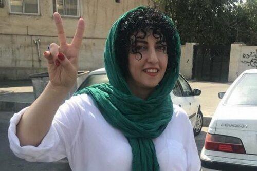 מתנגדת משטר איראנית מועמדת לפרס נובל לשלום
