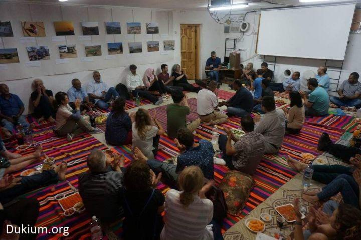 מקום מקלט במלוא מובן המלה. המולתקא בבאר שבע (צילום: באדיבות פורום דו קיום בנגב)