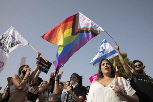 """הפגנה מול הכנסת: """"לא לשתף פעולה עם הכהניסטים"""""""
