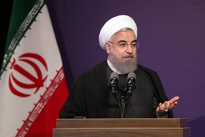 נשיא איראן, חסן רוחאני (צילום: Hossein Mirkamali, CC BY 4.0)