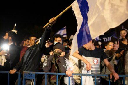 פעילי הימין שצעדו בירושלים (אורן זיו)