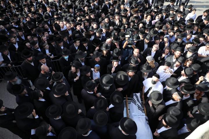 הלוויה של קורבנות האסון במירון, ירושלים (אורן זיו)