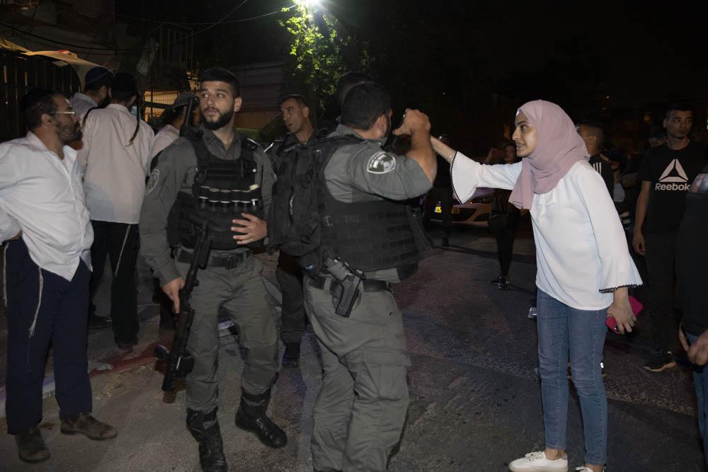 """""""הצעירים הצילו את המצב"""". מונא אל כורד בשכונת שייח׳ ג'ראח שבמזרח ירושלים, 4 במאי 2021 (צילום: אורן זיו)"""