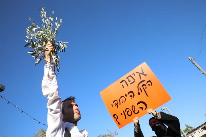הפגנה ביפו, ב-15 במאי 2021 (צילום: אורן זיו)
