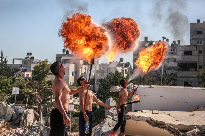 עזה, יוני 2021 (צילום: מוחמד זאנון / אקטיבסטילס)