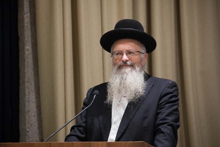 הרב שמואל אליהו (צילום: יונתן זינדל / פלאש90)