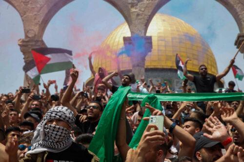 הצעירים מכירים את הנרטיב, את המטרה ואת הדרך. מחאה באל-אקצא בחודש יוני (צילום: ג'מאל עווד / פלאש 90)