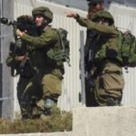 עוריף, 14.5.21, חיילים ומתנחלים פועלים כיחידה צבאית משולבת (צילומים באדיבות מאזן שחאדה)