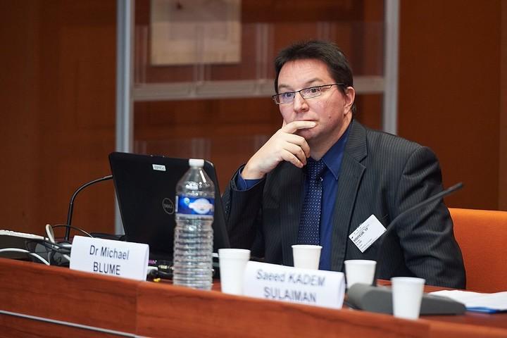 מיכאל בלומה, הנציב הנוצרי לחיים יהודיים ונגד אנטישמיות של מדינת באדן-וורטמברג (צילום: Council of Europe, CC BY 3.0)