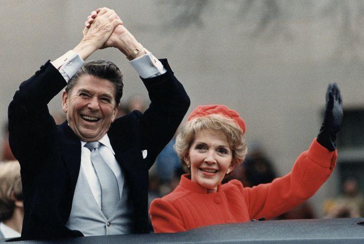 ישראל ראתה בבחירתו סיכוי להגברת השפעתה. רונלד רייגן ביום השבעתו ב-1981 (צילום: הבית הלבן)