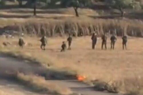 תיעוד: חיילים ירו למוות בצעיר פלסטיני מבלי שהיווה סכנה