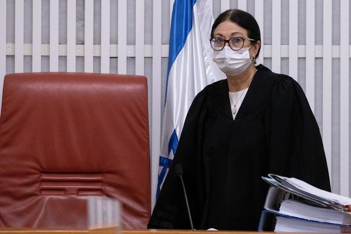 נשיאת בית המשפט העליון, השופטת אסתר חיות (צילום: יונתן זינדל / פלאש90)