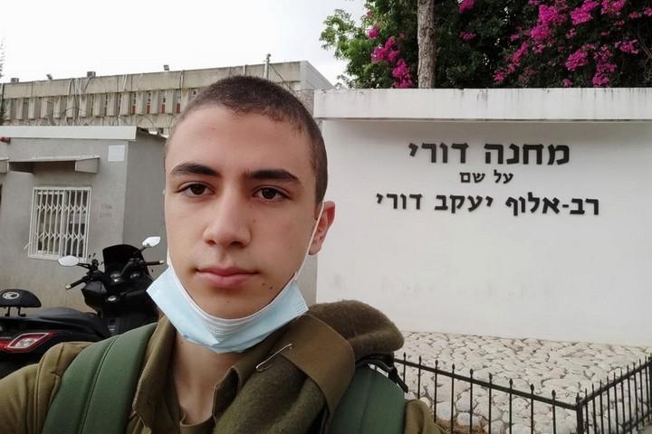 סרבן המצפון ערן אביב (צילום: באדיבות המצולם)