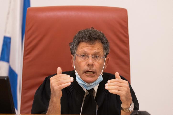 ניסה להציג את הדיון כוויכוח על טרמינולוגיה. השופט יצחק עמית (צילום: יונתן זינדל / פלאש 90)
