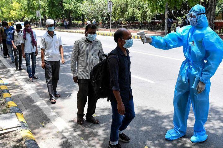אפרטהייד חיסונים בין העולם השלישי לעולם העשיר. בדיקות קורונה בהודו (צילום: גווידין ויליאמס CC BY 2.0)
