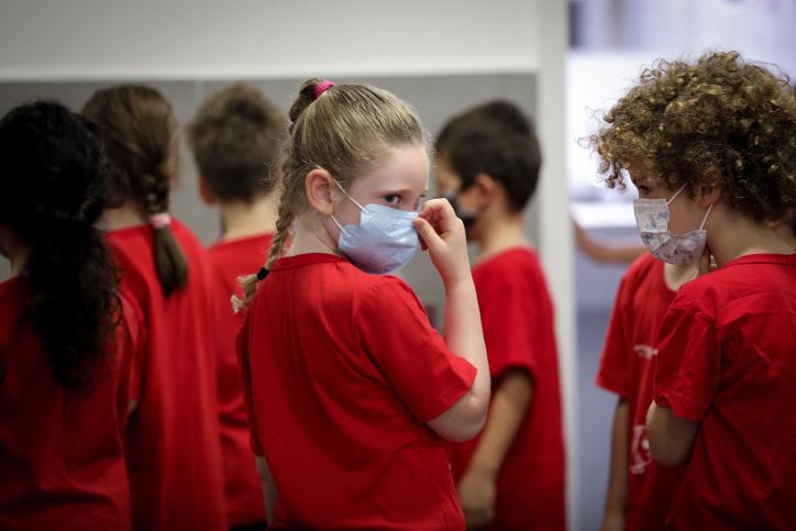 למנהלים אסור לשאול את הילדים אם עשו בדיקות. ילדים עם פתיחת שנת הלימודים בירושלים (צילום: יוסי זמיר)