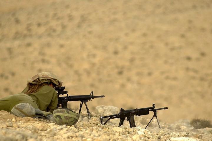 """רובה גליל ישראלי (צילום: דו""""צ)"""