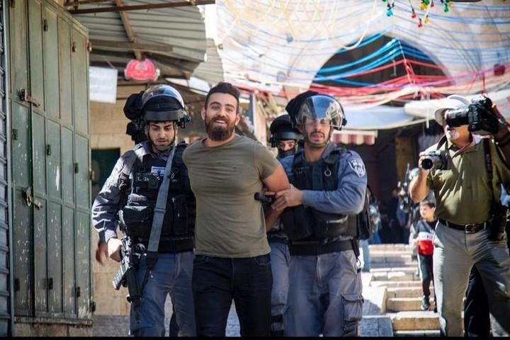 שאדי ח'ארוף נעצר בפעם השנייה (צילום: לטיפה עבד אלטיף)