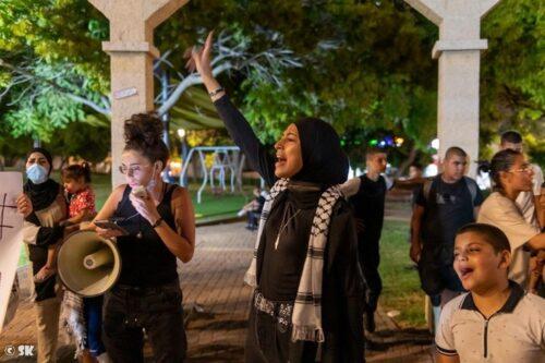 הפעילים בלוד נחושים: גם מעצר הילדים לא יפסיק את המחאה