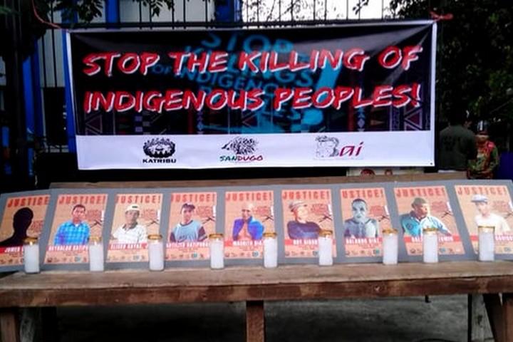 צילום מסך מתוך קמפיין שדורש צדק לנרצחי ועצורי הטבח בפיליפינים (מתוך סרטון של IPMSDL)